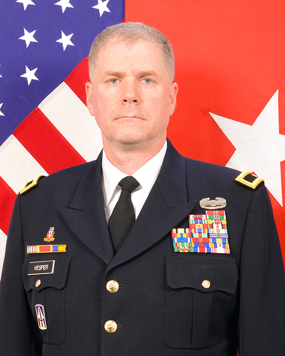 Assistant Adjutant General (Army) BG David N. Vesper headshot