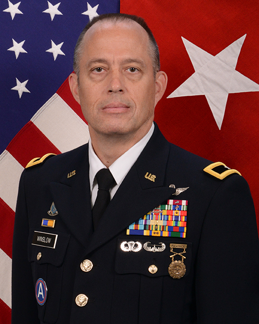 The Acting Adjutant General - Brig. Gen. Timothy J. Winslow headshot