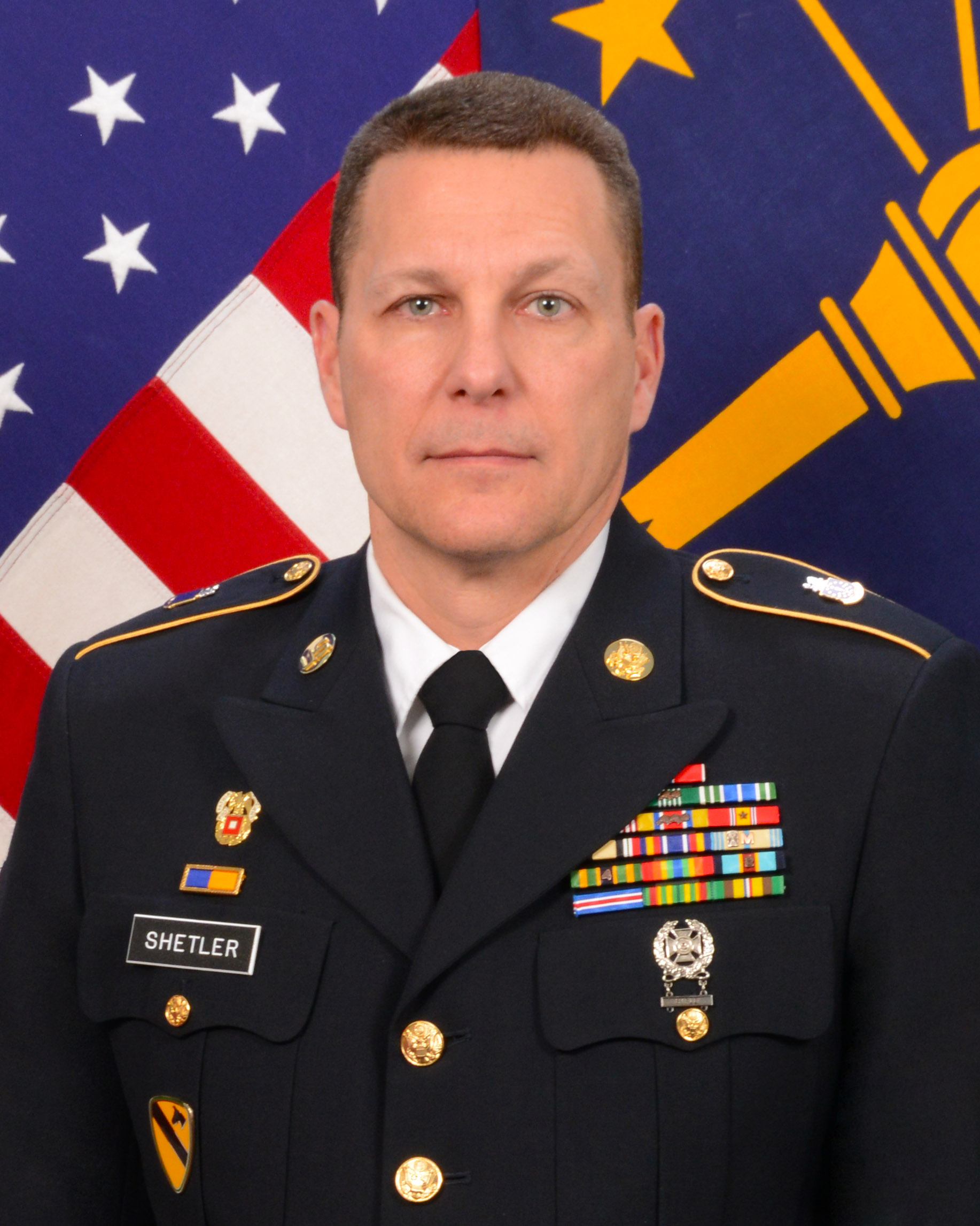 Senior Enlisted Advisor Command Sergeant Major Dale Shetler