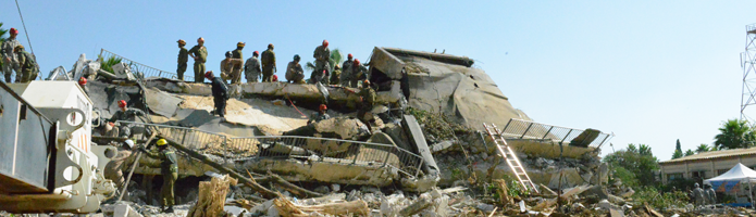 Header Image- soldiers training on collapsed building- 81st Troop Command page