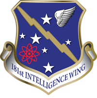 Air National Guard 181st Intelligence Wing crest