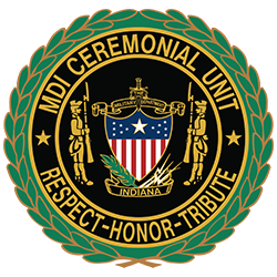 Military Department of Indiana Ceremonial Unit logo