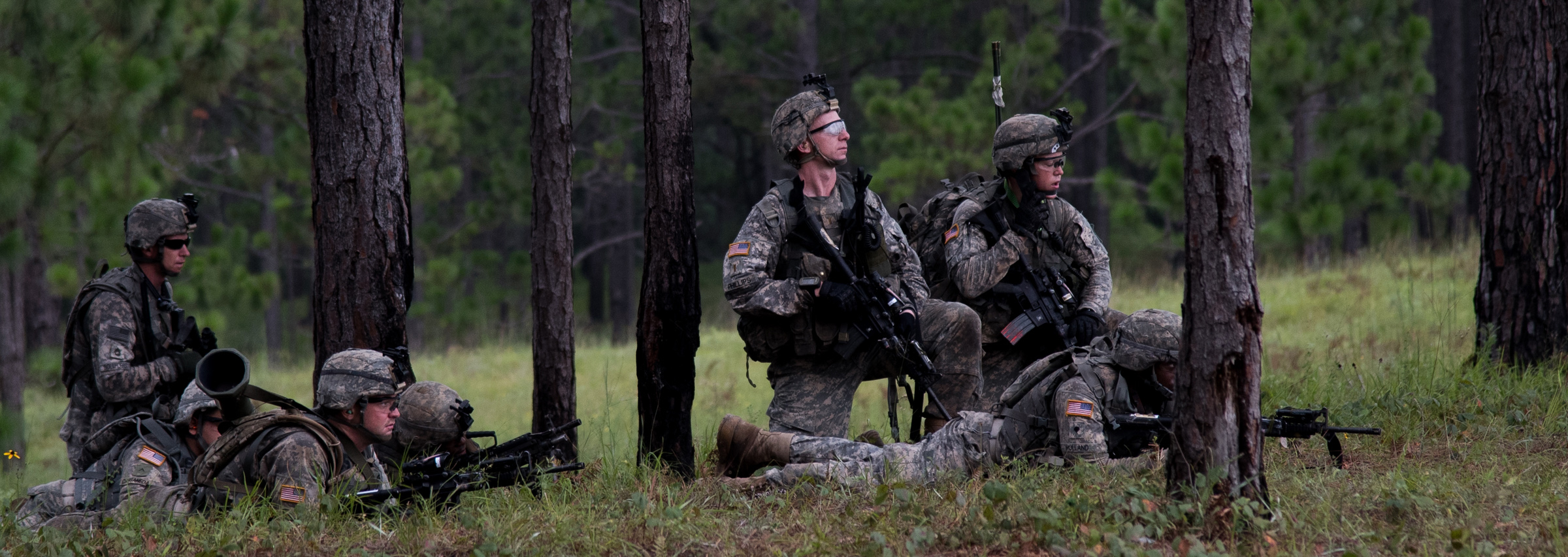 Header image- soldiers in forest- 138th Regional Training Institute page