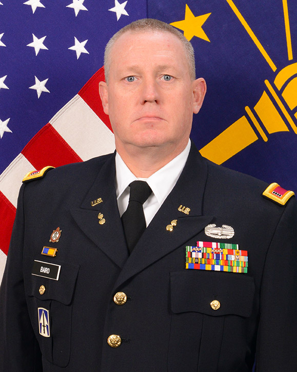 State Command Chief Warrant Officer, CW5 Christopher R. Jennings head shot