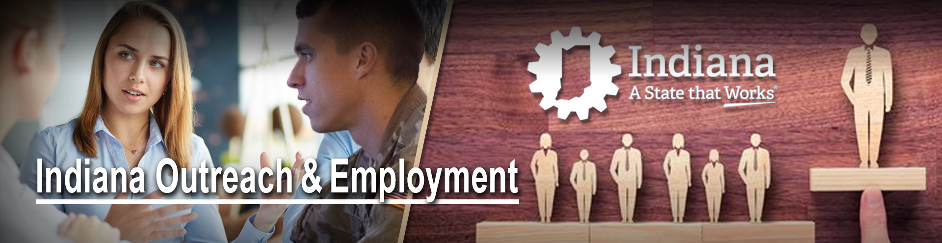 Header image- banner for Indiana Employment Team page
