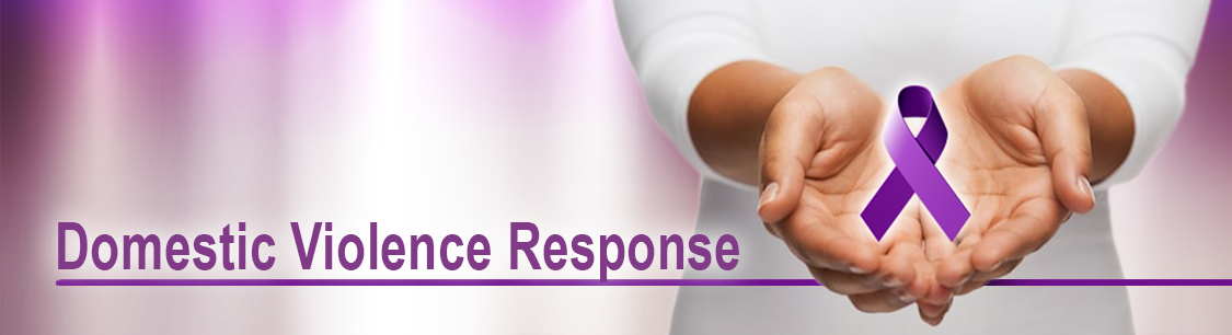 Header image- banner for the Domestic Violence Response page