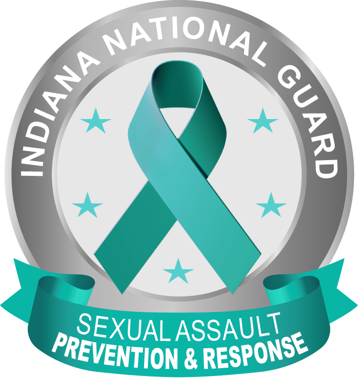 INNG Sexual Assault Prevention and Response logo with teal ribbon