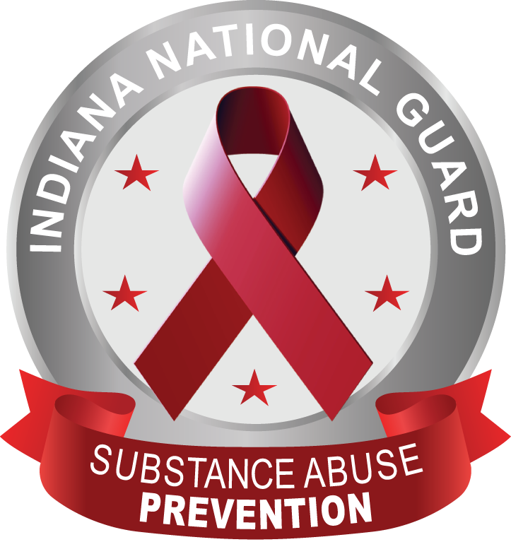 INNG Substance Abuse Prevention logo with red ribbon