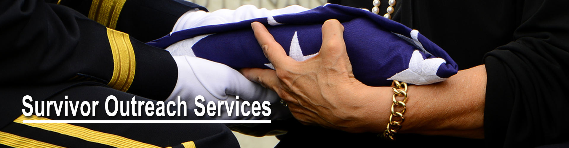 Header image- banner for the Survivor Outreach Services page