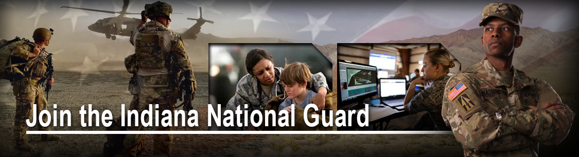 Join the Indiana National Guard header image