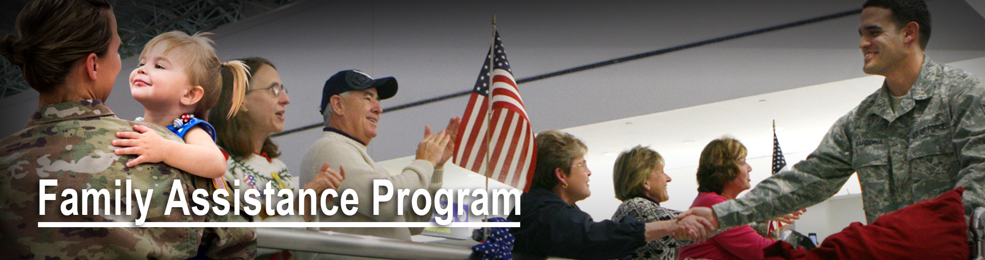 Header image for Family Assistance Program page