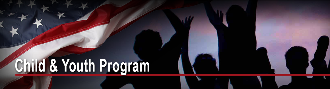 Header image for Child and Youth Programs page