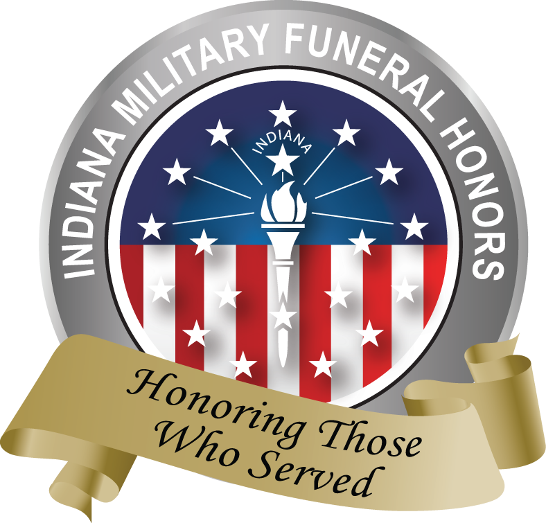 Indiana Military Funeral Honors logo