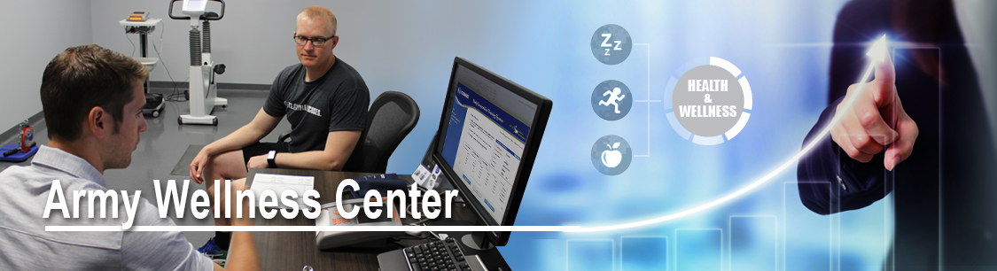 Header image- banner for Army Wellness Center page